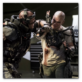 :: Pulse para Ampliar :: Matt Damon (right) stars in Columbia Pictures' ELYSIUM.